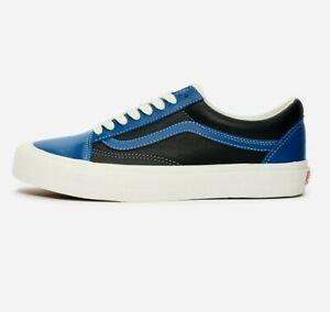 Vans Old Skool OG Vault LX  Leather Skate Shoes 11.5 True Blue