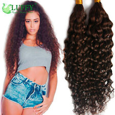 Braid women hair extensions ebay curly braiding hair bulk brazilian virgin human hair extensions micro braids 1pc pmusecretfo Choice Image