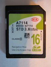 2015 KIA Forte Navigation SD MAP DATA CARD Part 96554-A7114 . Latest update