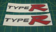 EP3 Cívico Tipo R Type-R Jdm Pegatinas Calcomanías De Lado Falda reemplazo de restauración