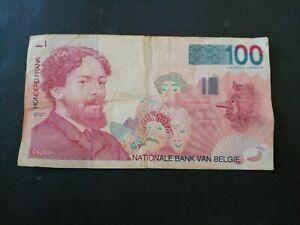 Belgium 100 Francs 1990s