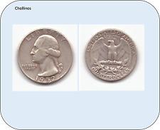 UN CUARTO DE DOLAR DE PLATA AÑO 1952  ESTADOS UNIDOS   ( MB11342 )