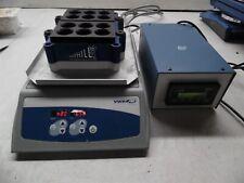 Vwr Mini Orbital Shaker 980125 With Anthill Pcm600 Block Heater