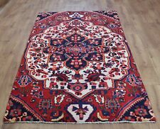 Persian Traditional Vintage Wool 221cmX 115cm Oriental Rug Handmade Carpet Rugs