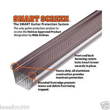 "SMART SCREEN ALUMINUM GUTTER GUARD Durable+Strong 5"" x 48"" - BOX OF 5 GPS400"