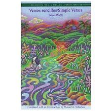 Versos Sencillos: Simple Verses (Paperback or Softback)