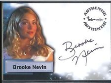 Smallville Season 5 Auto A41 Buffy Sanders Brooke Nevin