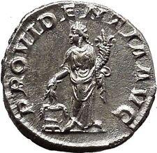 SEVERUS ALEXANDER Ancient Silver Roman Coin ANNONA  Cult Prosperity i19041