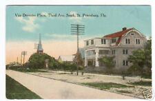 Van Deventer Third Avenue St Petersburg FL '10 postcard
