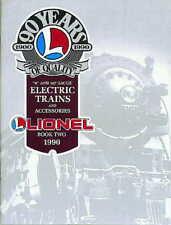 1990 LIONEL TRAINS BOOK TWO CATALOG MINT