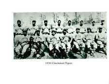 1936 CINCINNATI TIGERS NEGRO LEAGUES TEAM 8X10  PHOTO  BASEBALL