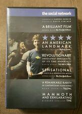 Social Network DVD Jesse Eisenberg Andrew Garfield