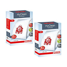 8 x Genuine Miele FJM HyClean/AirClean Vacuum Bags and 4 x Filters