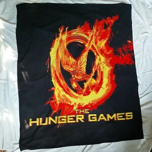 """Neca 2012 The Hunger Games Movie 46""""x56"""" Soft Polyester Fleece Throw Blanket"""