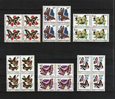 Belgisch Congo Belge - Rwanda n° 138/143 bl 4 MNH Butterflies Papillons c48.00Eu
