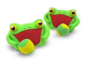 Catching Game Frogs Frog Catch Soft Ball Frog Children Glove Fangen Throw