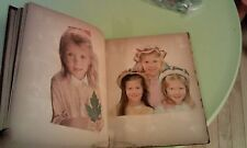 Vintage 1940s - 1960s Large Scrapbook Clippings Dog Cat Militaria Kids Religious