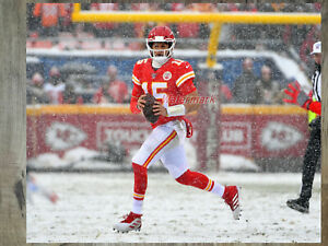 NFL QB Patrick Mahomes Kansas City Chiefs Game Action Color 8 X 10 Photo Pic