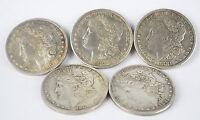 10pcs Steel Morgan Dollar (3.8cm)Magic Trick Dollar Size Coins Magic Accessories