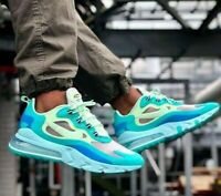 Nike Air Max 270 React - Hyper Jade / Frosted Spruce - Sizes 6 - 12 AO4971-301