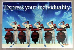 "Devo Honda Scooters Promotional Poster (1984) 24"" x 36"" DEVO Scooter Poster"