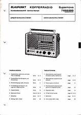 Service Manual-Anleitung für Blaupunkt Supernova 7 658 880