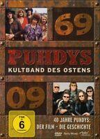 "PUHDYS ""40 JAHRE PUHDYS"" DVD NEU"