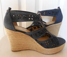 New Michael kors Damita floral wedge sandals. sz9.5. RT$99.