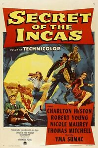 Secret of the Incas (1954) (Classic Film Dvd)