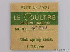 Jaeger LeCoultre Click Spring Comb Cal.840 Part #30/31 434