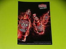 CARTE POSTALE PUBLICITAIRE - BIERE - DESPERADOS - RED - TEQUILA SPIRIT