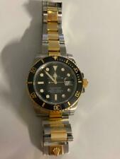 Rolex Submariner Mens 18k Yellow Gold Stainless Steel