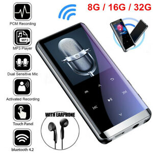 Bluetooth MP3 Player MP4 Media FM Radio Recorder HIFI Sport Music Speakers US