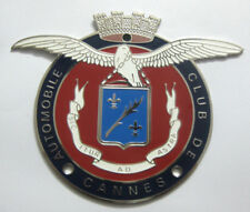 Vehicle Parts & Accessories Automobile Club De Cannes Car Grill Badge Emblem Logos Metal Enamled Car Grill B Automobilia