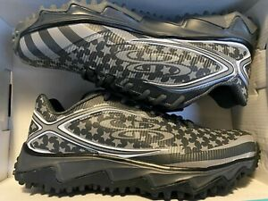 Limited Edition Boombah Quake Black Ops Men's Softball Cleats Turf FLAG 11.0 11