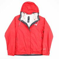THE NORTH FACE HyVent Red 00s Nylon Casual Outdoor Jacket Womens M