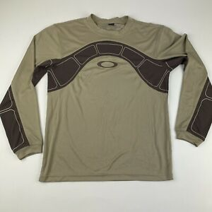 Oakley Tactical Dri Fit Style Polyester Long Sleeve Shirt Men's Small
