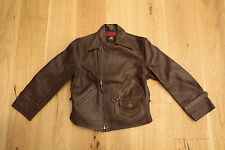 Lost Worlds  CUSTOM RIDERS LEATHER JACKET Size 40