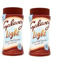 2 x 180g Galaxy Light Instant Hot Chocolate Drink Powder