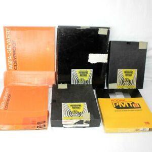 Huge Lot Photography Paper Duo Print Kodak AGFA-Gevaert 8x10-11x14 in Boxes