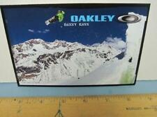 OAKLEY surf sun 2007 DANNY KASS SNOWBOARD dealer promo display card New Ol Stock