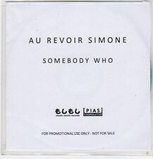 (EP952) Au Revoir Simone, Somebody Who - DJ CD