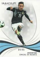 2018-19 Panini Immaculate Soccer Collection Base Common - Serial Numbered to /65