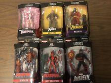 Marvel Legends Set Of 6 figures Moc Wolverine!