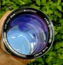 Vivitar 90-180mm f4.5 VMC Flat Field Macro Zoom Canon FD mt  Aperture Wide Open