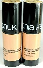 Sonia Kashuk Perfecting Luminous Foundation Cream # 03  2 Pack .57 Ounces NIP