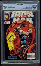 Iron Man #304 (1994) CBCS Graded 9.4 ~ Hulkbuster Armor  Thunderstrike ~ Not CGC