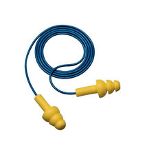 3M Reusable Ear Plugs, Reusable, Corded, 25dB, Universal, 340-4004