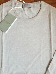 JOHN SMEDLEY THEON Sandstone Cashmere Blend Pullover Size XXL BNWT RRP £170