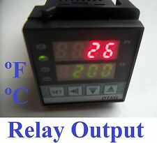 Fahrenheit Digital PID Temperature Controller Thermocouple TC RTD Pt100 Control